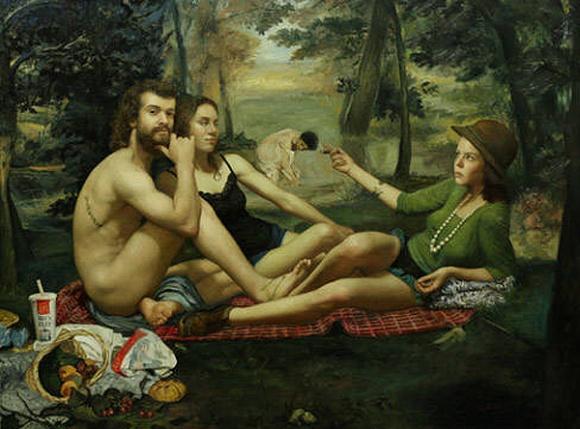 Hybrid Paintings