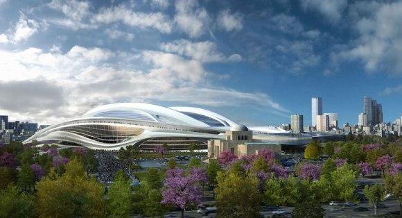 Zaha Hadid: New National Stadium of Japan venue for Tokyo 2020 Olympics