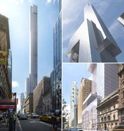 Renderings Revealed For Extell's New 57th Street Megatower