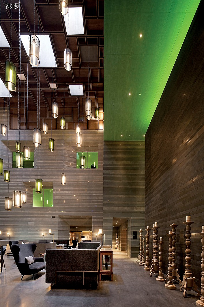 2014 boy winner foreign hotel design insider for Hotel foyer decor